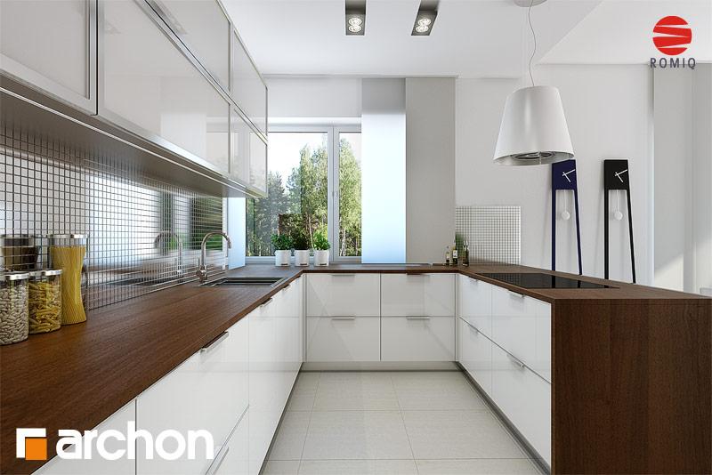 Проект будинку ARCHON+ Вілла Вероніка 3 (П) візуалізація кухні 1 від 2