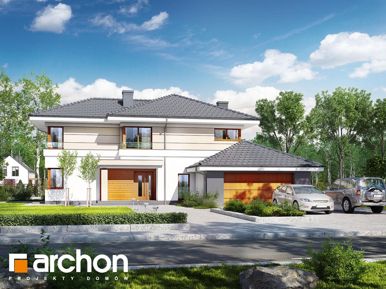 Проект будинку ARCHON+ Вілла Вероніка 3 (П) Вид 2