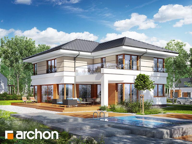 Проект будинку ARCHON+ Вілла Вероніка 3 (П) Вид 1