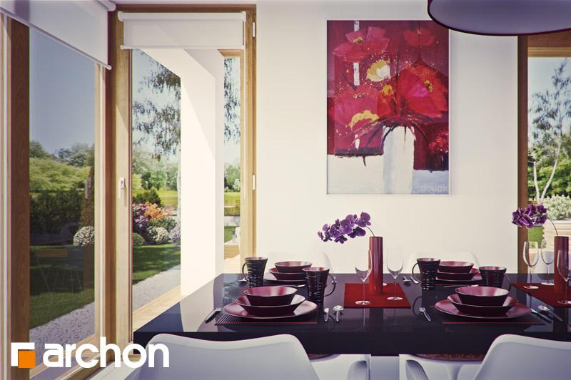 Проект будинку ARCHON+ Вілла Вероніка 3 (П) денна зона (візуалізація 2 від 1)