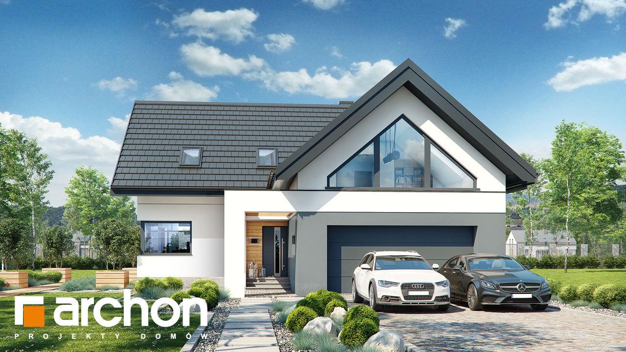 Проект будинку ARCHON+ Будинок в яскерах (Г2Е)