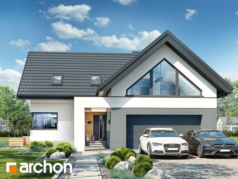Проект будинку ARCHON+ Будинок в яскерах (Г2Е) Вид 1