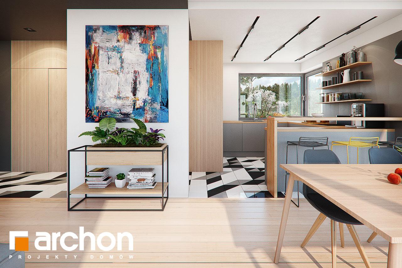 Проект будинку ARCHON+ Будинок в яскерах (Г2Е) денна зона (візуалізація 1 від 3)