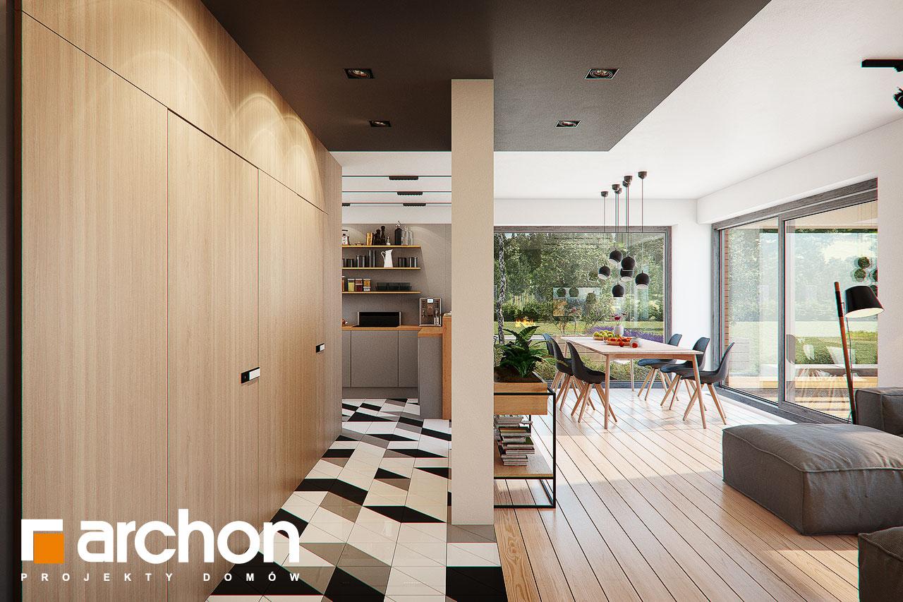 Проект будинку ARCHON+ Будинок в яскерах (Г2Е) денна зона (візуалізація 1 від 7)