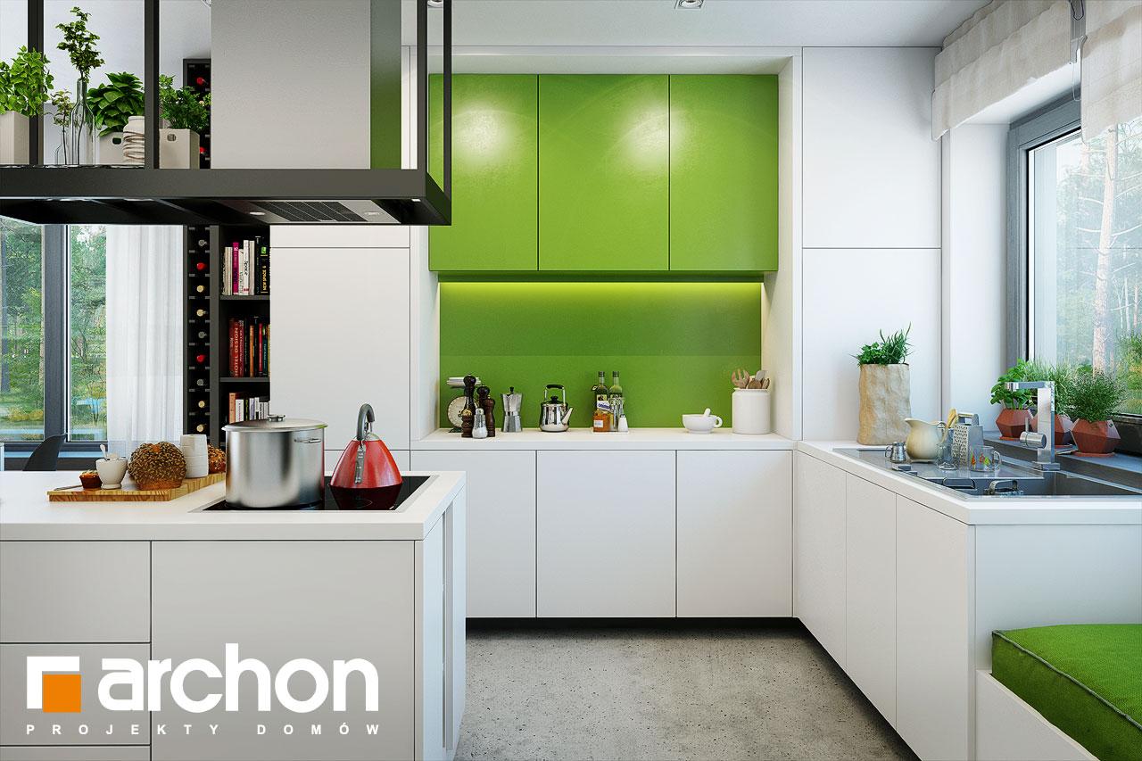 Проект будинку ARCHON+ Будинок під червоною горобиною 15 візуалізація кухні 1 від 2