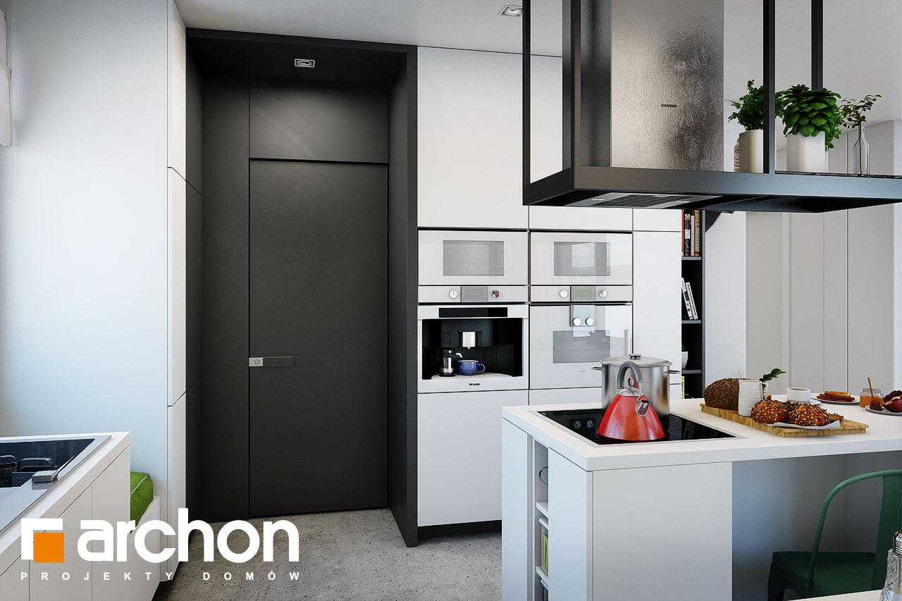 Проект будинку ARCHON+ Будинок під червоною горобиною 15 візуалізація кухні 1 від 3