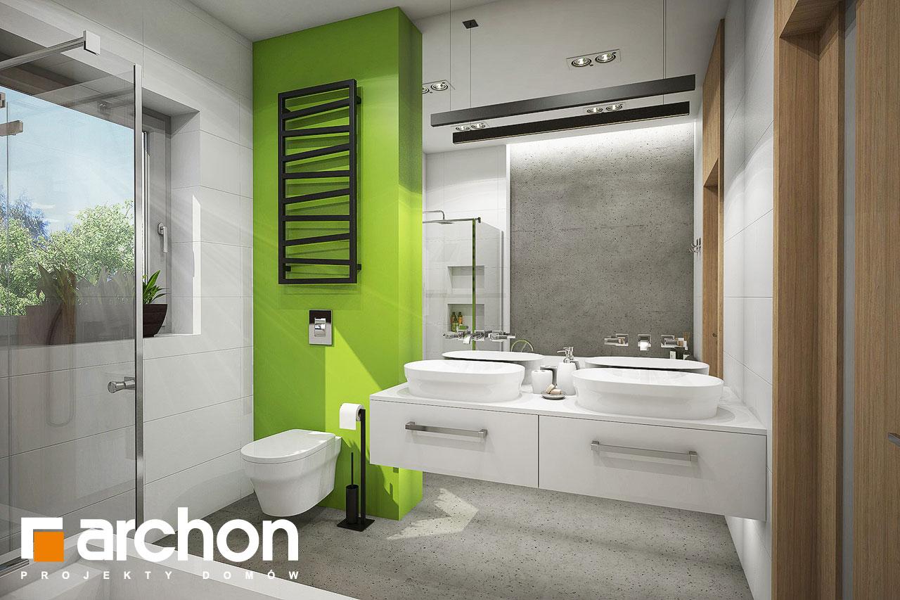 Проект будинку ARCHON+ Будинок під червоною горобиною 15 візуалізація ванни (візуалізація 3 від 1)