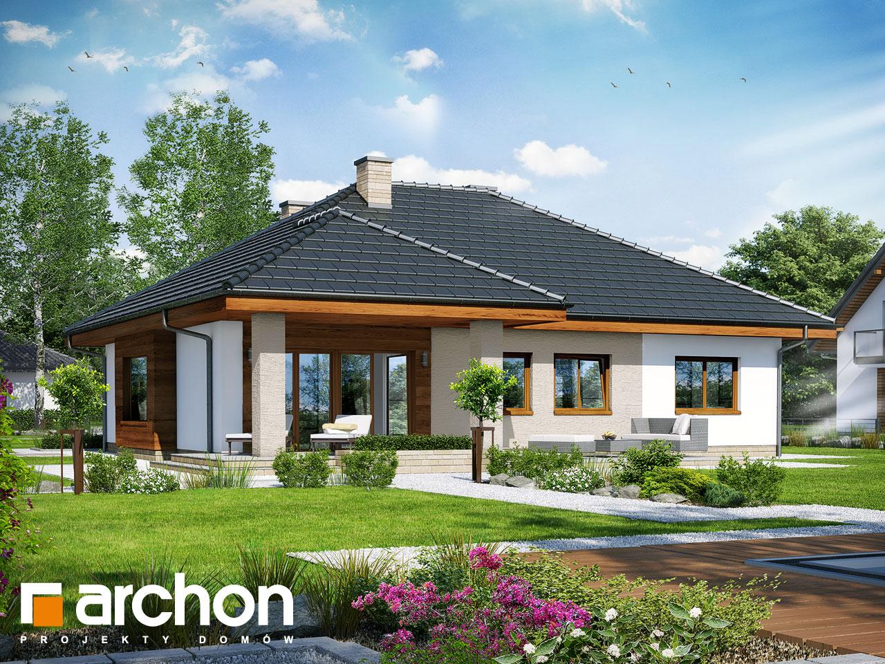 Проект будинку ARCHON+ Будинок під червоною горобиною 15 Вид 2