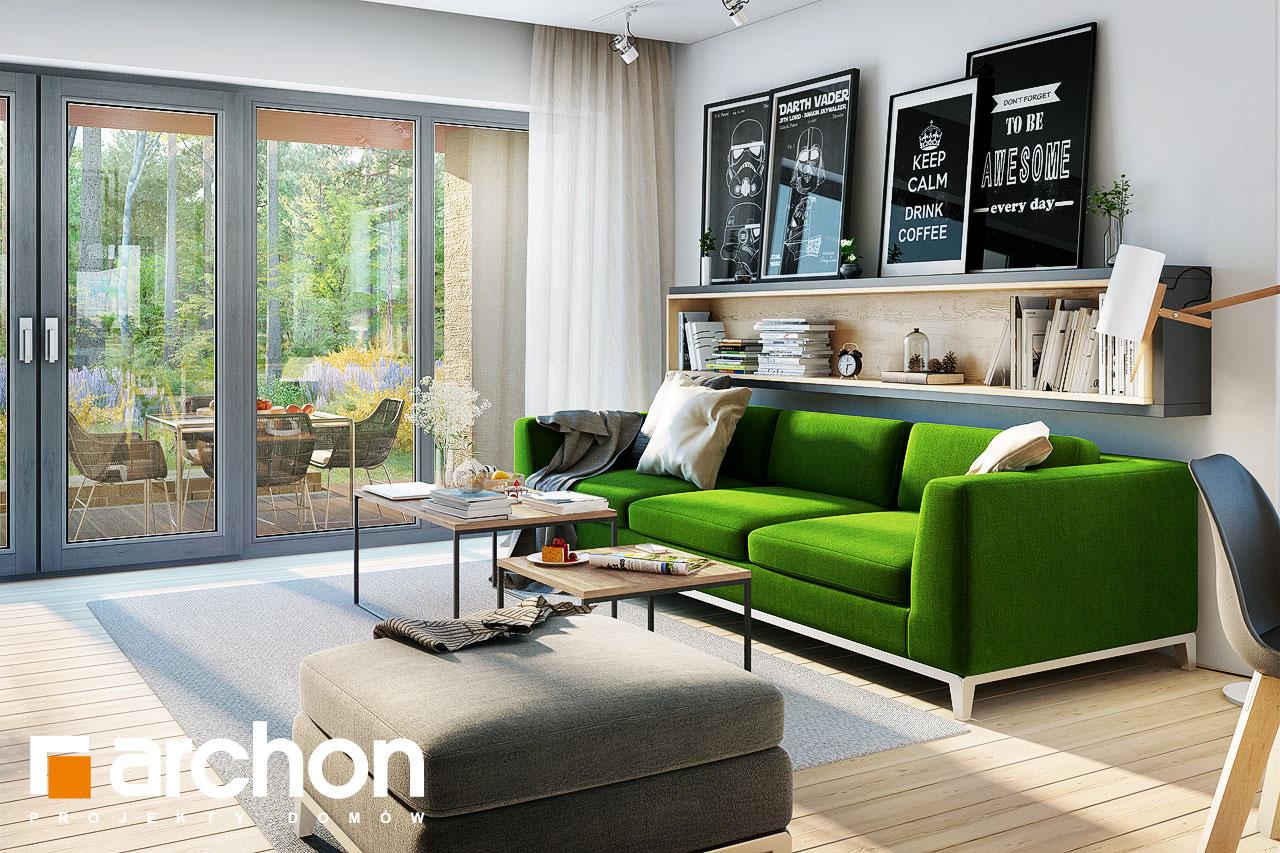 Проект будинку ARCHON+ Будинок під червоною горобиною 15 денна зона (візуалізація 1 від 4)