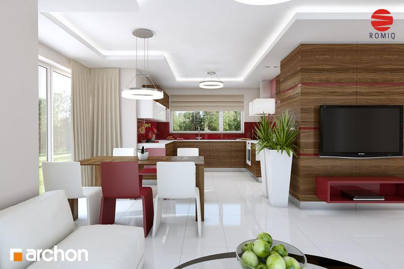 Проект будинку ARCHON+ Будинок у вербені (Н) вер.2 аранжування кухні 1 від 1