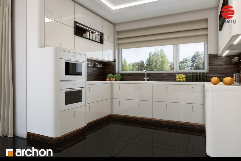 Проект будинку ARCHON+ Будинок у вербені (Н) вер.2 аранжування кухні 2 від 2