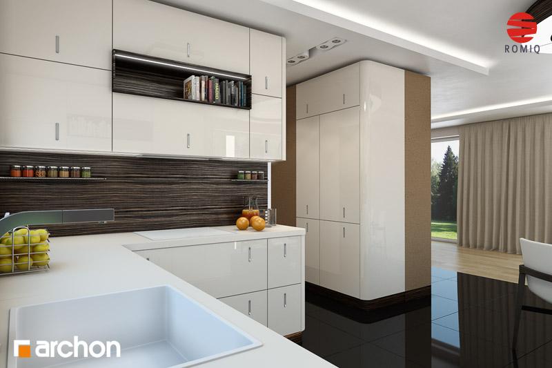 Проект будинку ARCHON+ Будинок у вербені (Н) вер.2 аранжування кухні 2 від 3