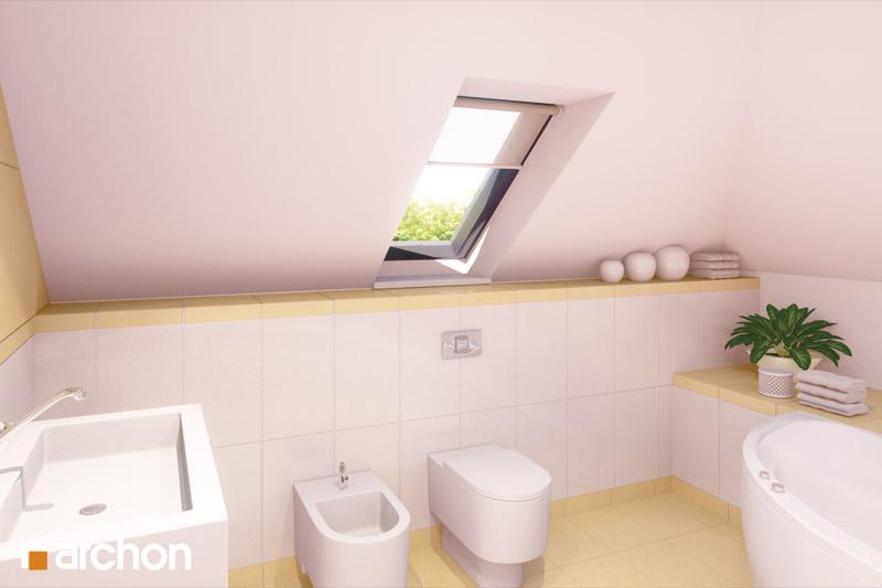 Проект будинку ARCHON+ Будинок у вербені (Н) вер.2 візуалізація ванни (візуалізація 3 від 1)
