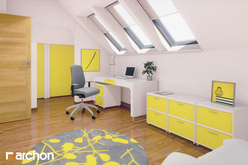 Проект будинку ARCHON+ Будинок у вербені (Н) вер.2 нічна зона (візуалізація 1 від 2)