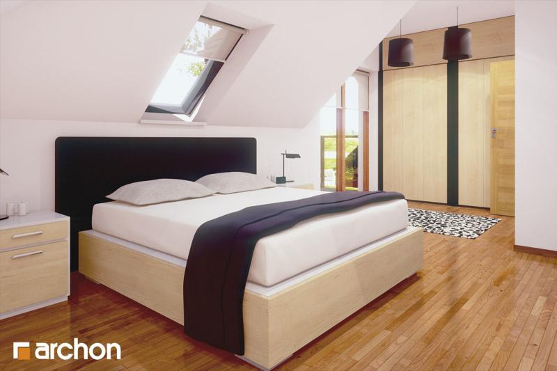 Проект будинку ARCHON+ Будинок у вербені (Н) вер.2 нічна зона (візуалізація 1 від 1)