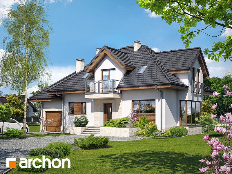 Проект будинку ARCHON+ Будинок у вербені (Н) вер.2 Вид 1