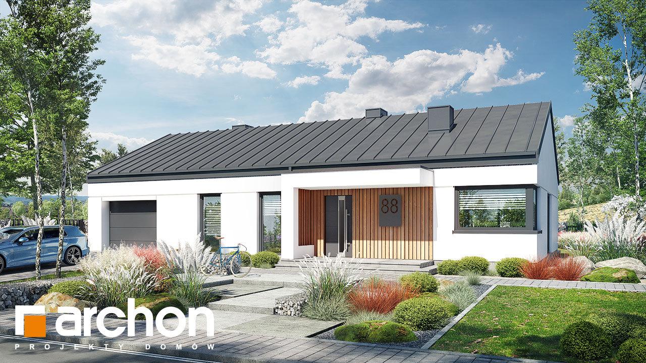 Проект будинку ARCHON+ Будинок в нарахнілах (Г)