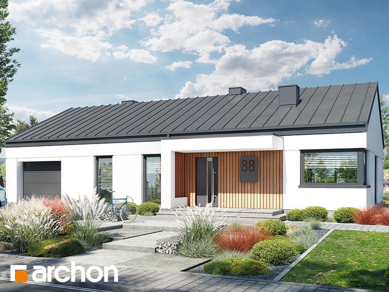 Проект будинку ARCHON+ Будинок в нарахнілах (Г) Вид 2
