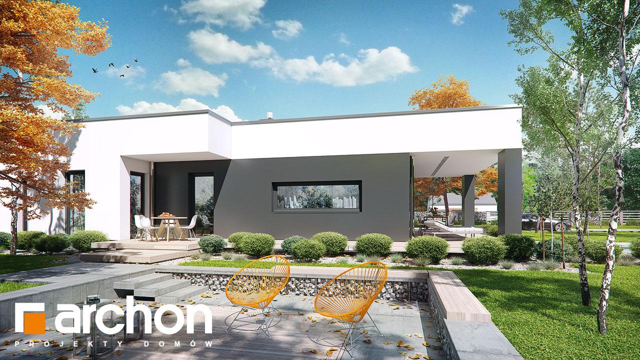 Проект будинку ARCHON+ Будинок в пепероміях додаткова візуалізація