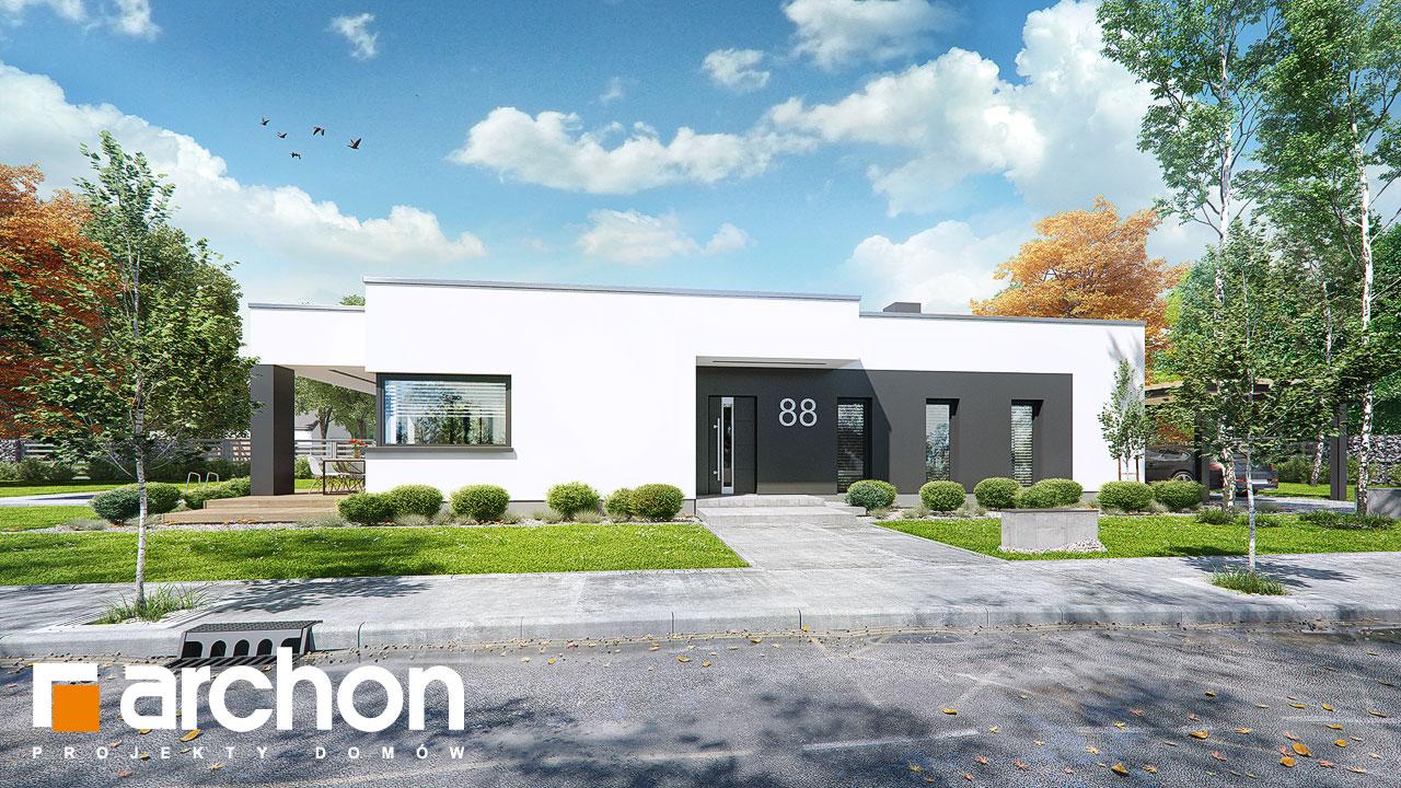 Проект будинку ARCHON+ Будинок в пепероміях Вид 2