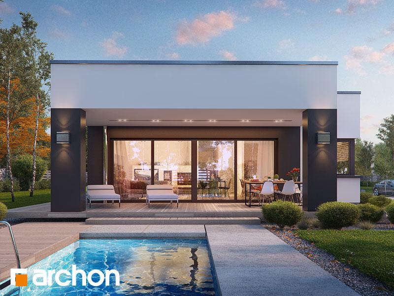 Проект будинку ARCHON+ Будинок в пепероміях Вид 1