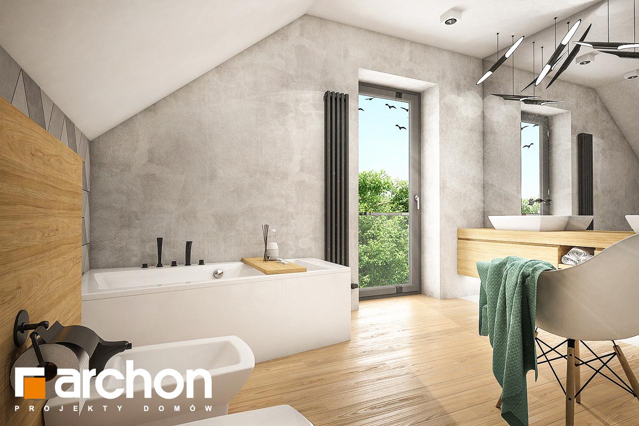 Проект будинку ARCHON+ Будинок в ізопірумі 3 візуалізація ванни (візуалізація 3 від 2)