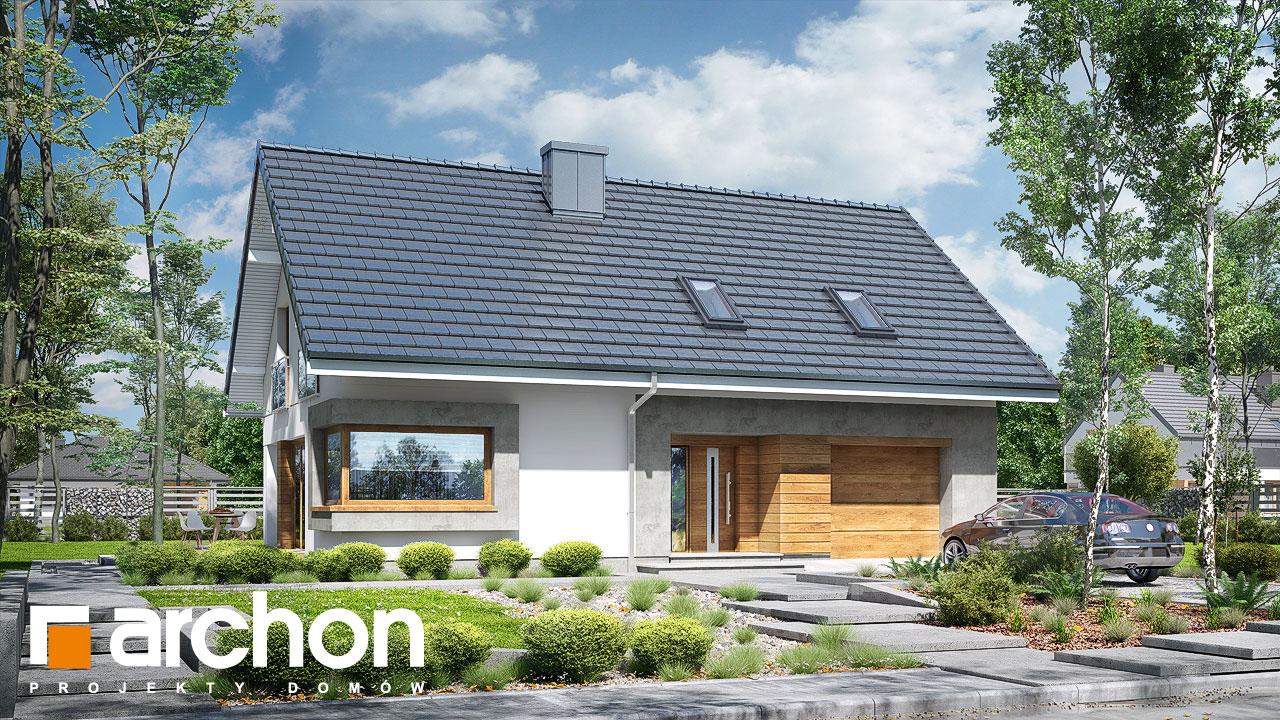 Проект будинку ARCHON+ Будинок в ізопірумі 3 стилізація 3