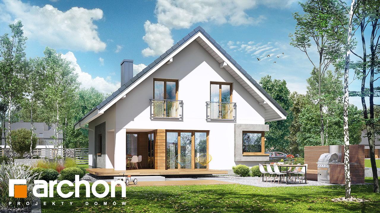 Проект будинку ARCHON+ Будинок в ізопірумі 3 стилізація 4