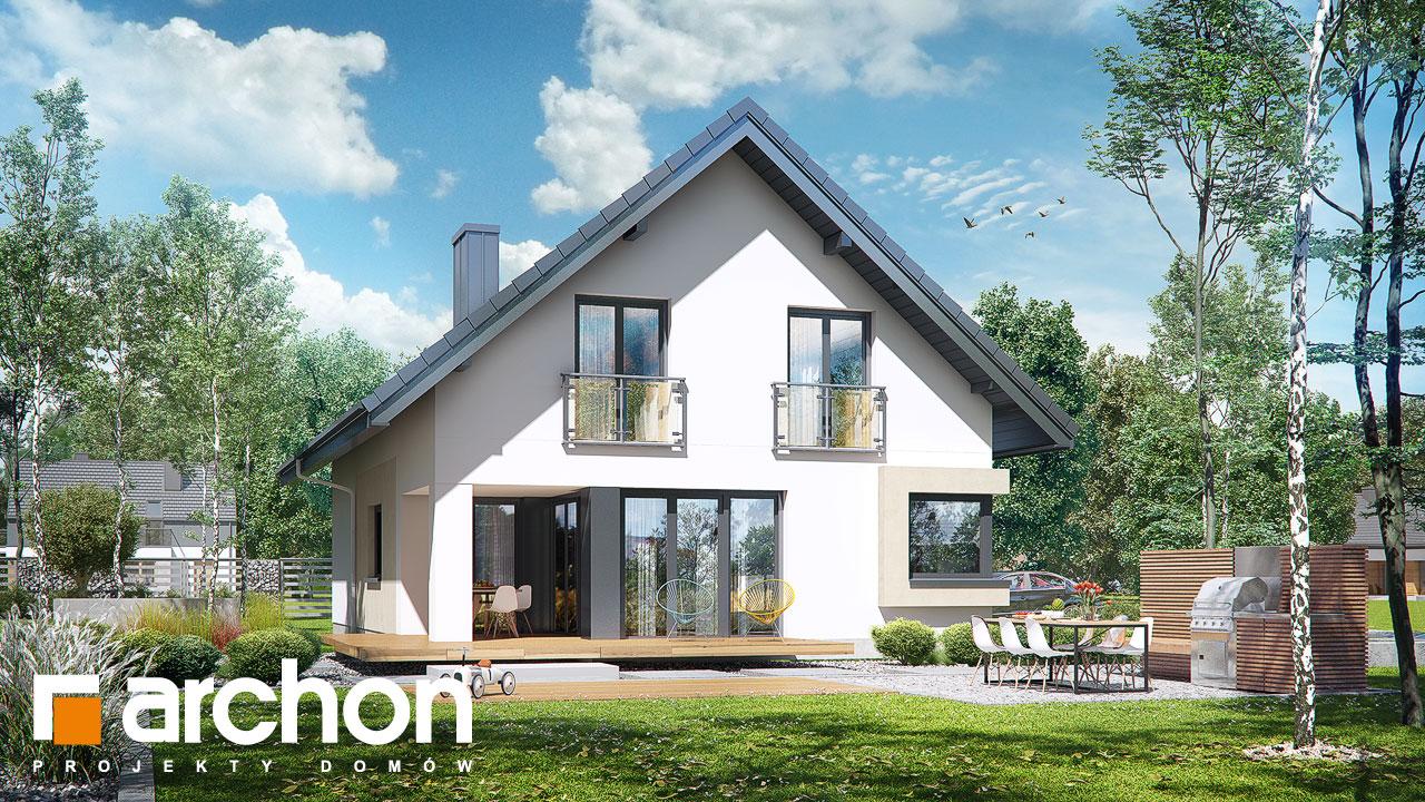Проект будинку ARCHON+ Будинок в ізопірумі 3 Вид 2