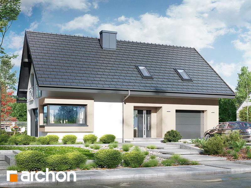 Проект будинку ARCHON+ Будинок в ізопірумі 3 Вид 1