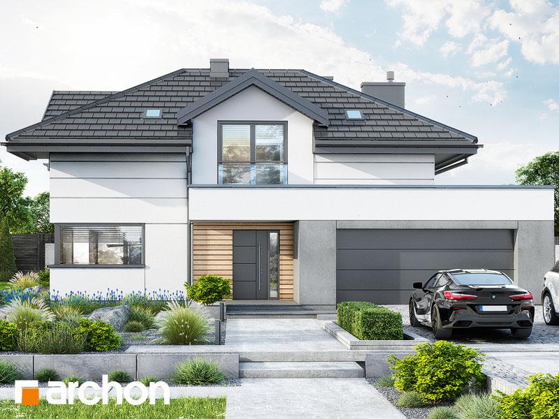 Проект будинку ARCHON+ Вілла Міранда 20 (Г2) Вид 1