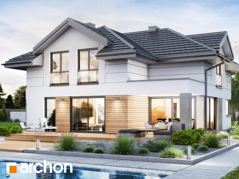 Проект будинку ARCHON+ Вілла Міранда 20 (Г2) Вид 2
