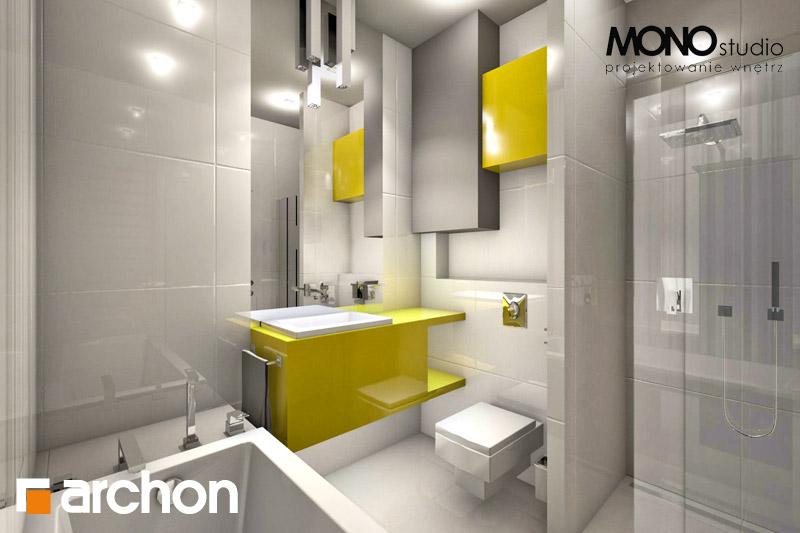 Проект будинку ARCHON+ Будинок в мекінтоші (ВП) візуалізація ванни (візуалізація 1 від 1)