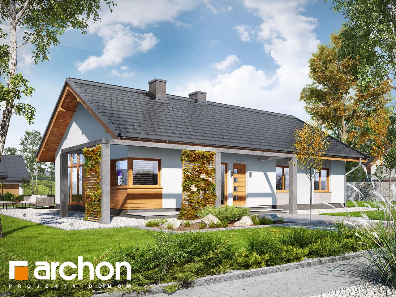 Проект будинку ARCHON+ Будинок в мекінтоші (ВП) Вид 2