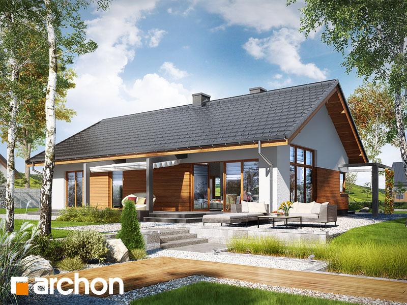 Проект будинку ARCHON+ Будинок в мекінтоші (ВП) Вид 1