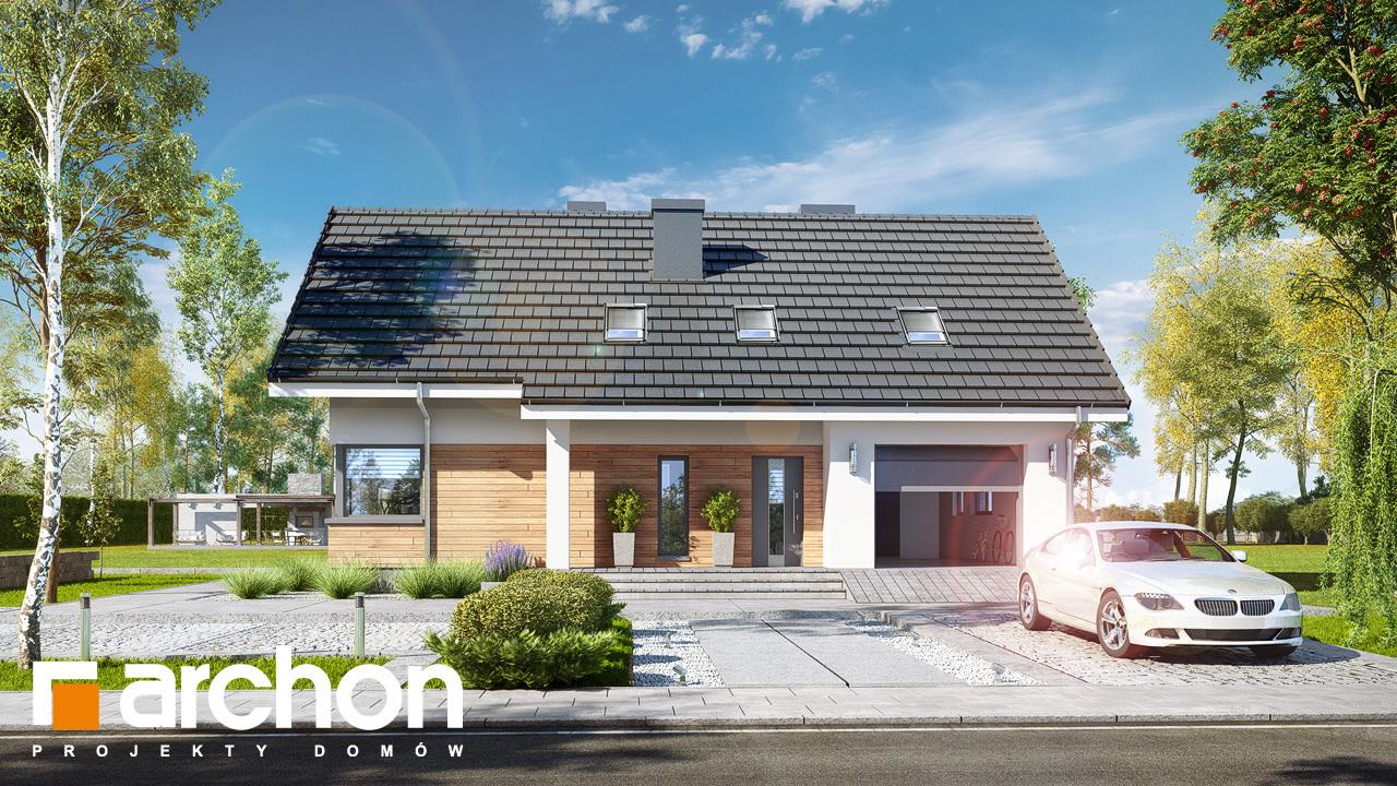 Проект будинку ARCHON+ Будинок в хризантемах (А)