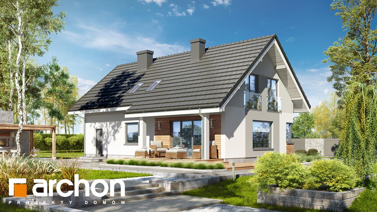 Проект будинку ARCHON+ Будинок в хризантемах (А) Вид 2