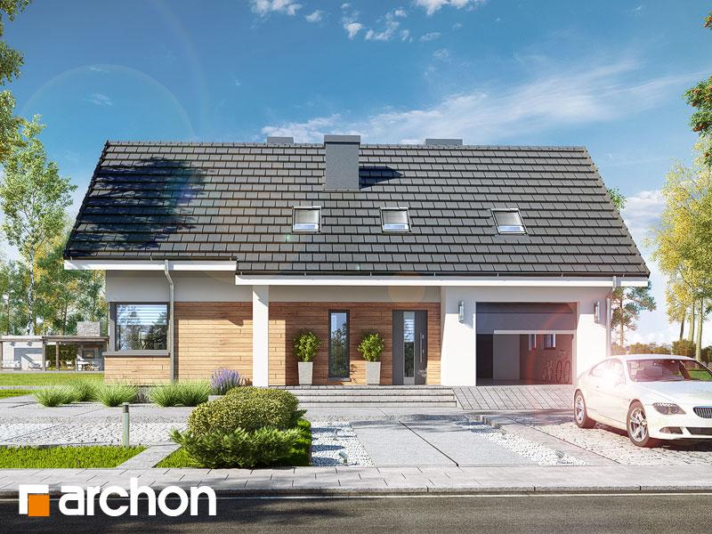 Проект будинку ARCHON+ Будинок в хризантемах (А) Вид 1