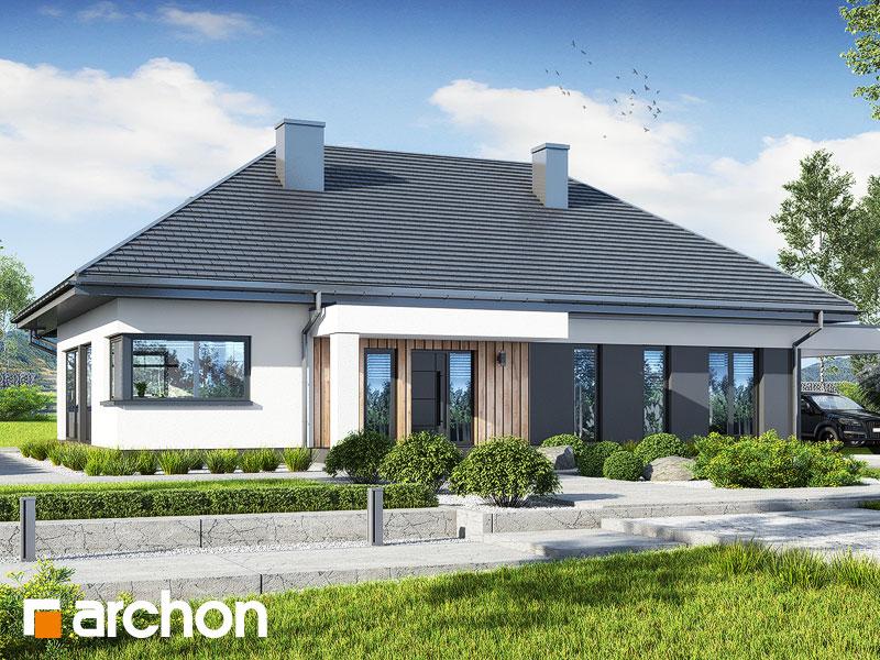 Проект будинку ARCHON+ Будинок в мекінтошах 12 Вид 1