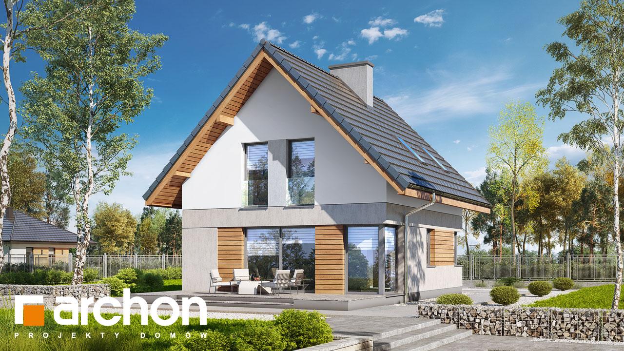 Проект будинку ARCHON+ Будинок на пагорбі (Н) Вид 2
