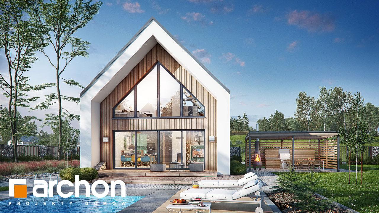 Проект будинку ARCHON+ Будинок в папаверах