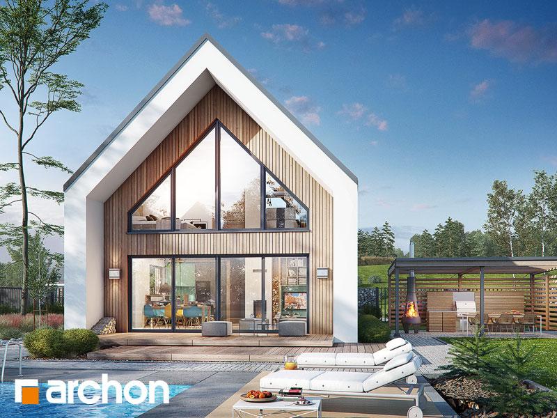Проект будинку ARCHON+ Будинок в папаверах  Вид 1