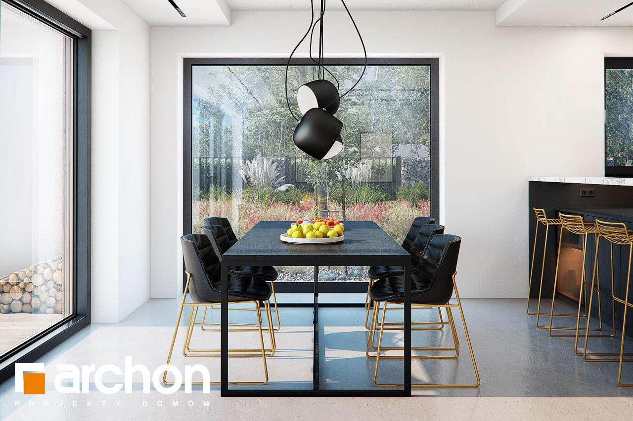 Проект будинку ARCHON+ Будинок в папаверах  денна зона (візуалізація 1 від 5)