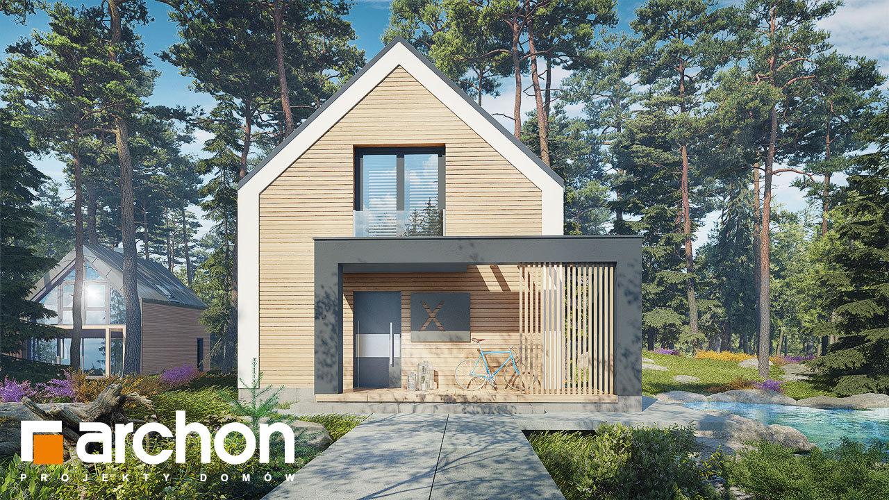 Проект дома ARCHON+ Летний домик в голокучнике