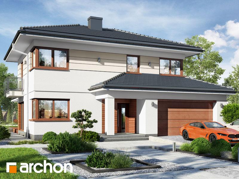 Проект будинку ARCHON+ Вілла Еліза 5 (Г2)  Вид 1