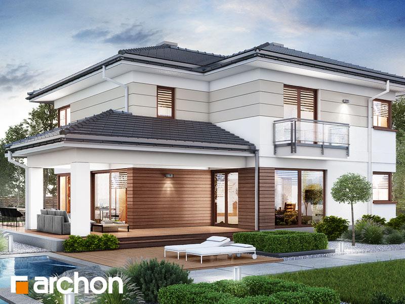 Проект будинку ARCHON+ Вілла Еліза 5 (Г2)  Вид 2