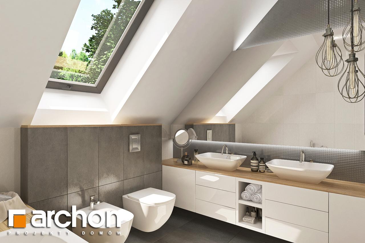 Проект будинку ARCHON+ Будинок у топазах візуалізація ванни (візуалізація 3 від 1)