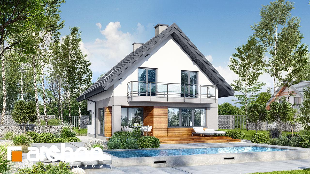 Проект будинку ARCHON+ Будинок у топазах Вид 2