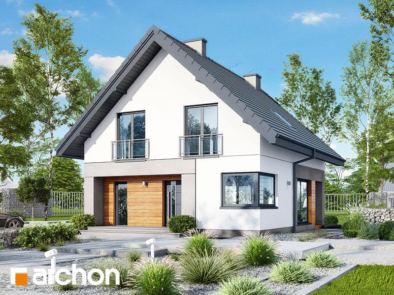 Проект будинку ARCHON+ Будинок у топазах Вид 1