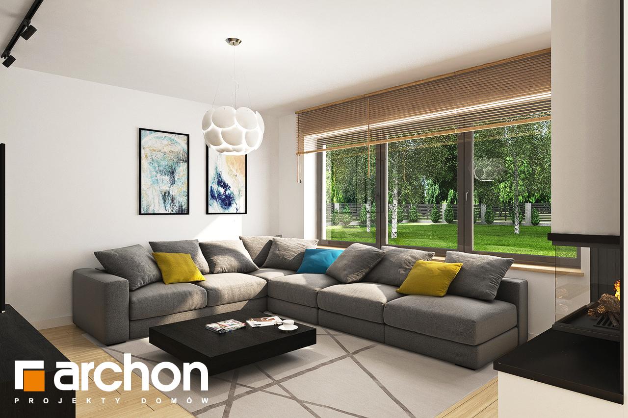 Проект будинку ARCHON+ Будинок у топазах денна зона (візуалізація 1 від 1)